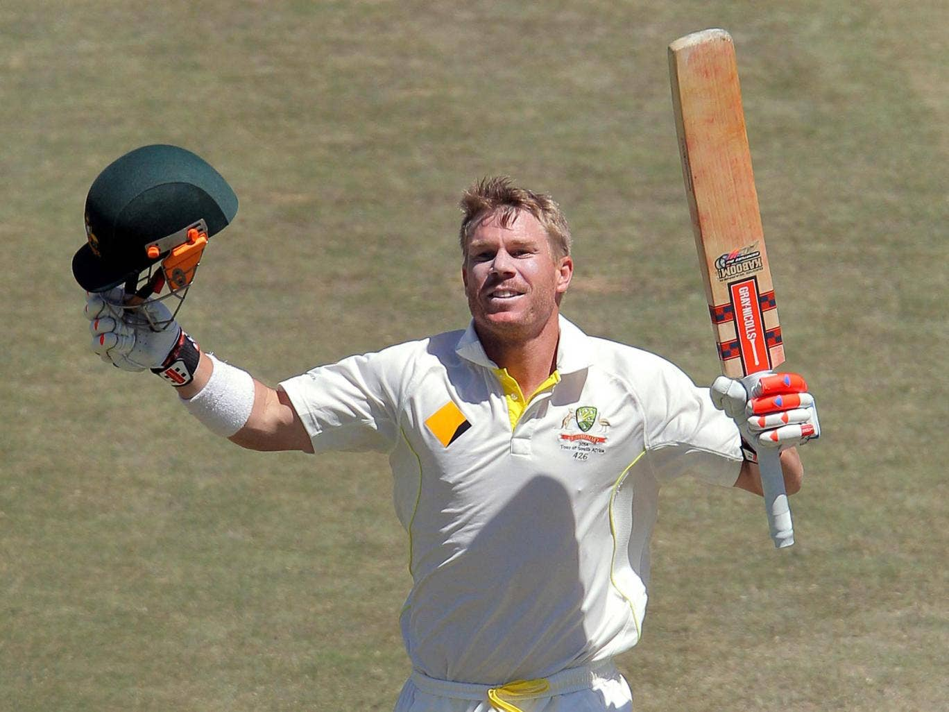 David Warner has benefitted from Australia's more relaxed approach to the game