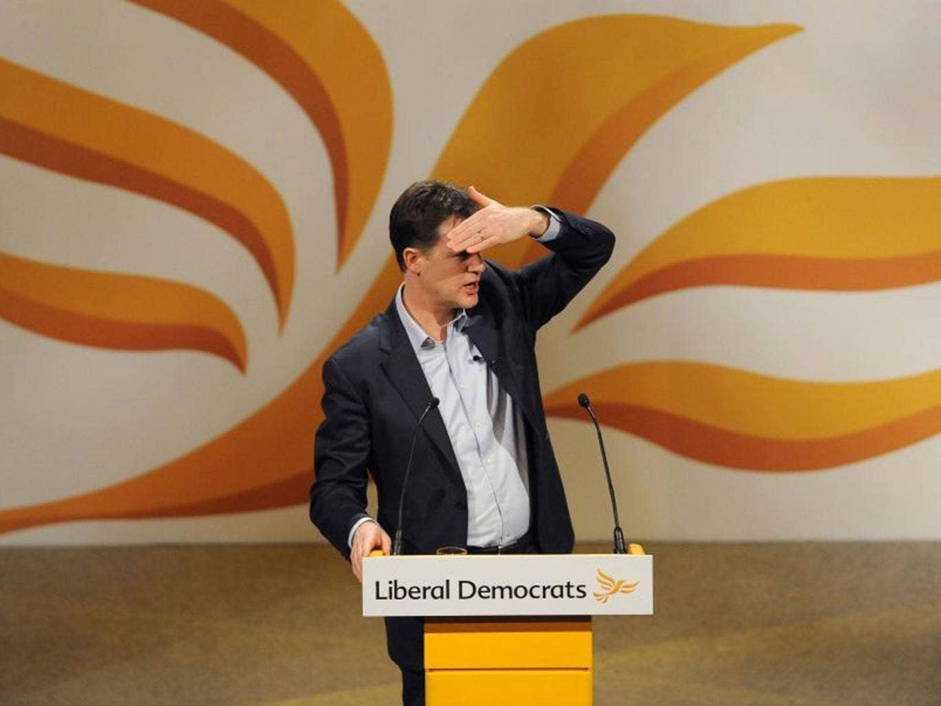 Nick Clegg will criticise the 'ungenerous, backward-looking politics' that has emerged in Britain