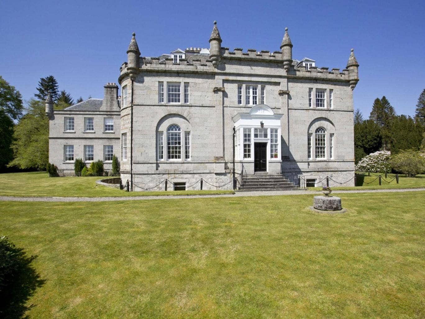 The sporting estate at Laggan in Inverness-shire is on the market for £7.5m