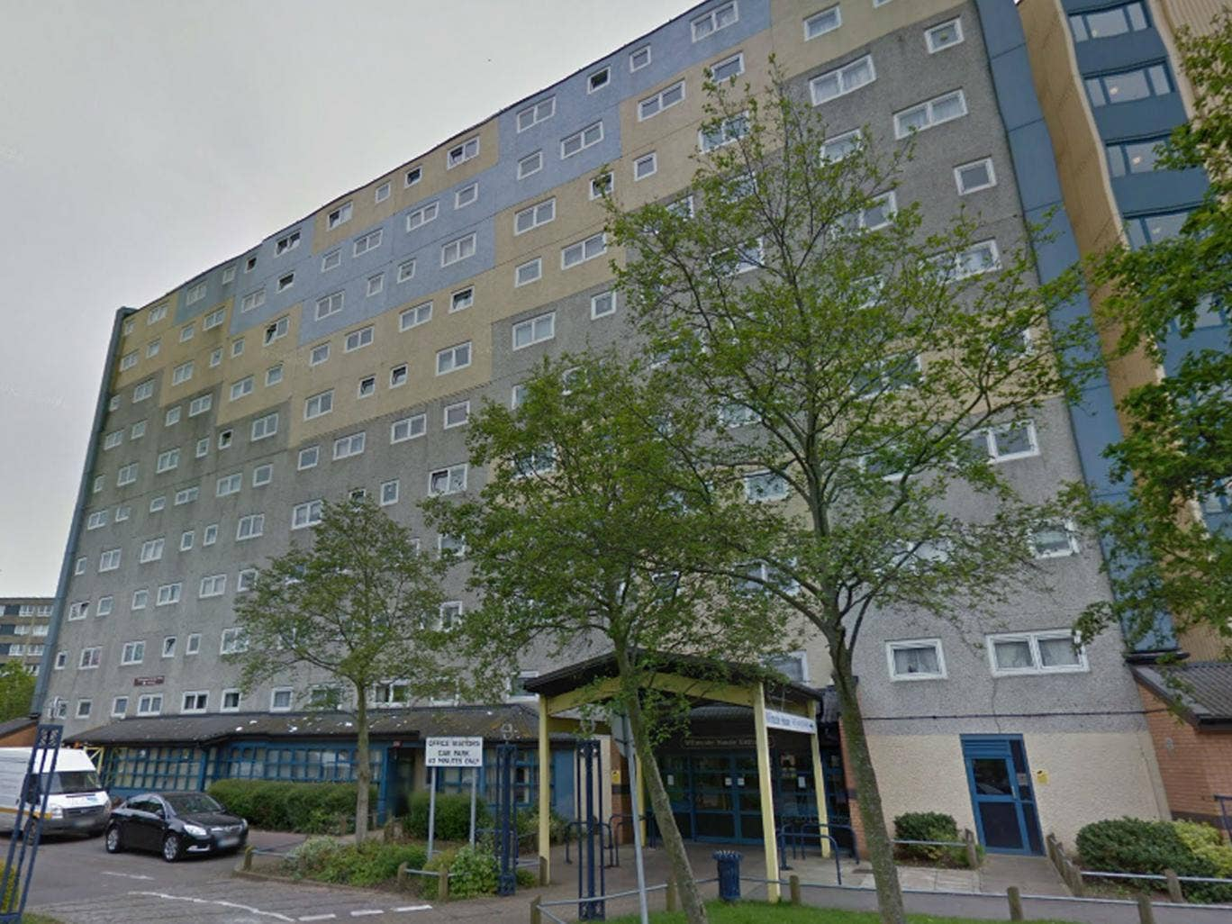 The body of Louise Brough was found in her flat in Wilmcote House, Tyseley Road, Portsmouth