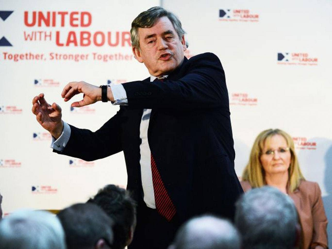 Labour is expected to endorse Gordon Brown's proposals to give the Scottish Parliament greater powers over income tax. The former PM described a plan for a 'partnership of equals'