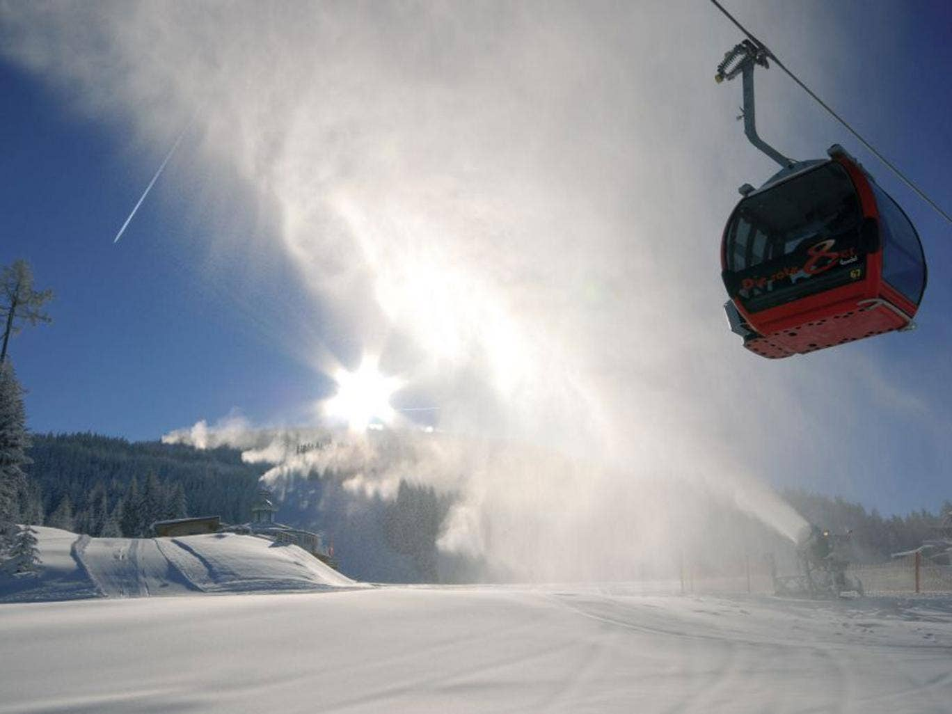 In the key of g: Wagrain forms part of Austria's giant Ski Amadé domain, the country's biggest