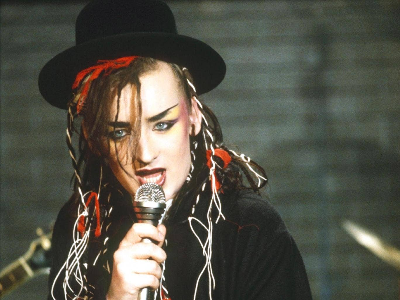 Fame: George in his Culture Club days