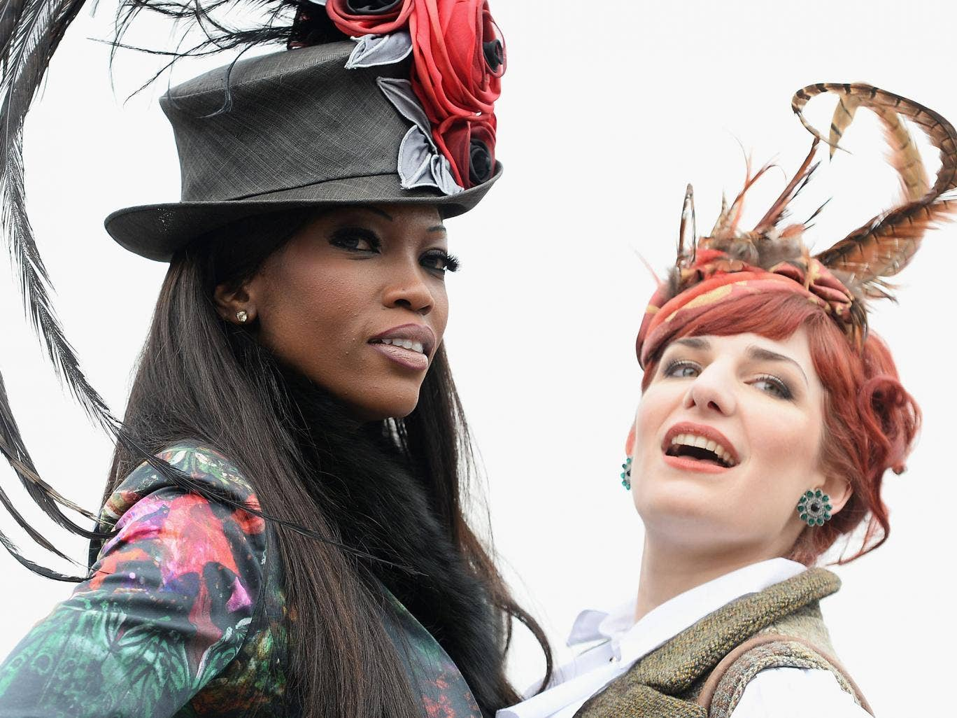 Fashion during Ladies Day at Cheltenham Festival