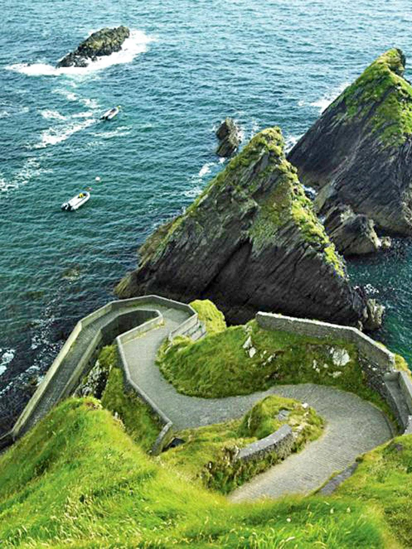 Wild west: the route passing along the Dingle peninsula
