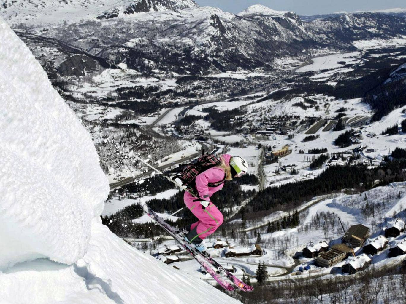 Learn the slopes: downhill in Hemsedal