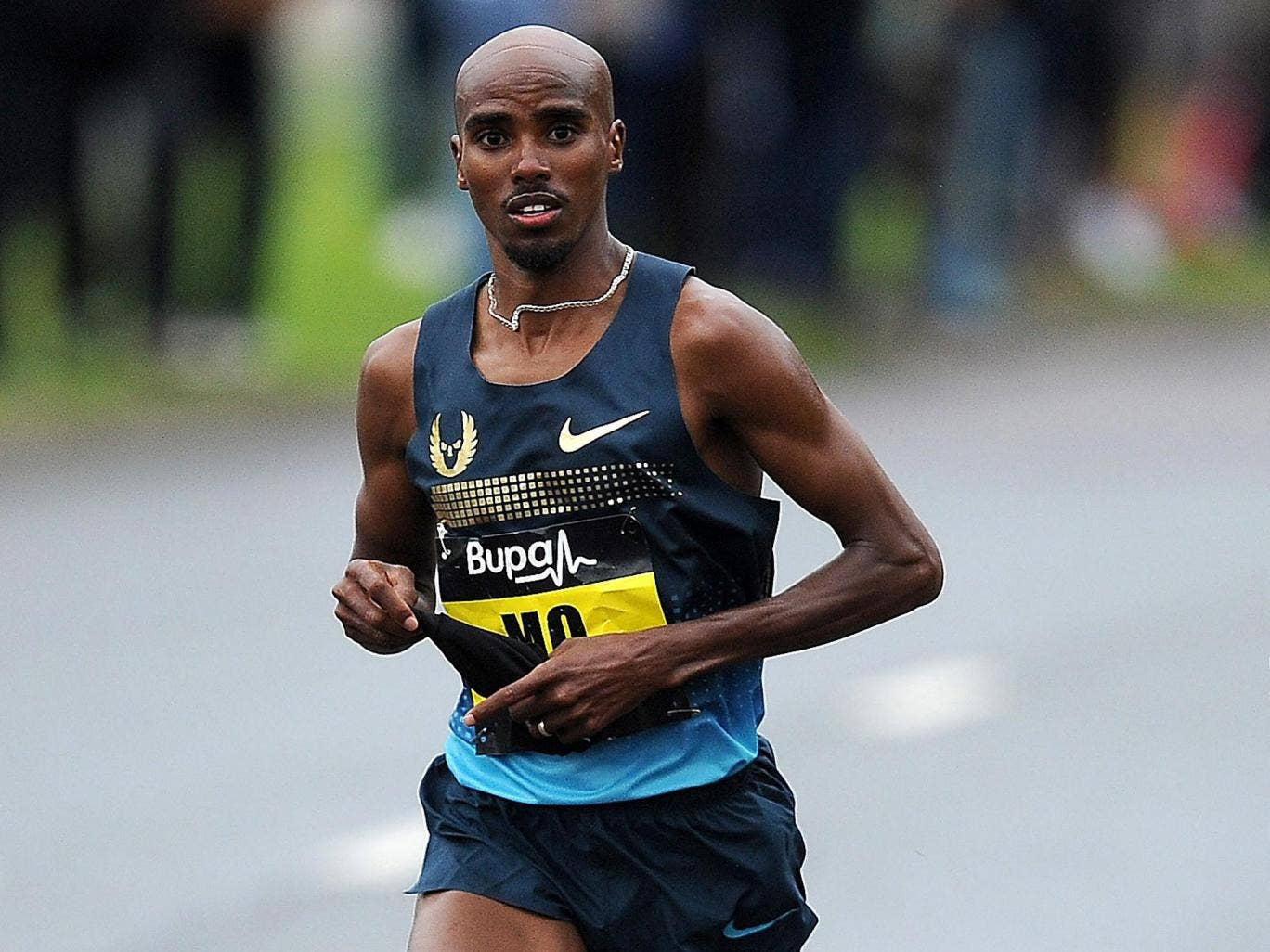 Mo Farah will be returning to action this week in the New York City Half Marathon