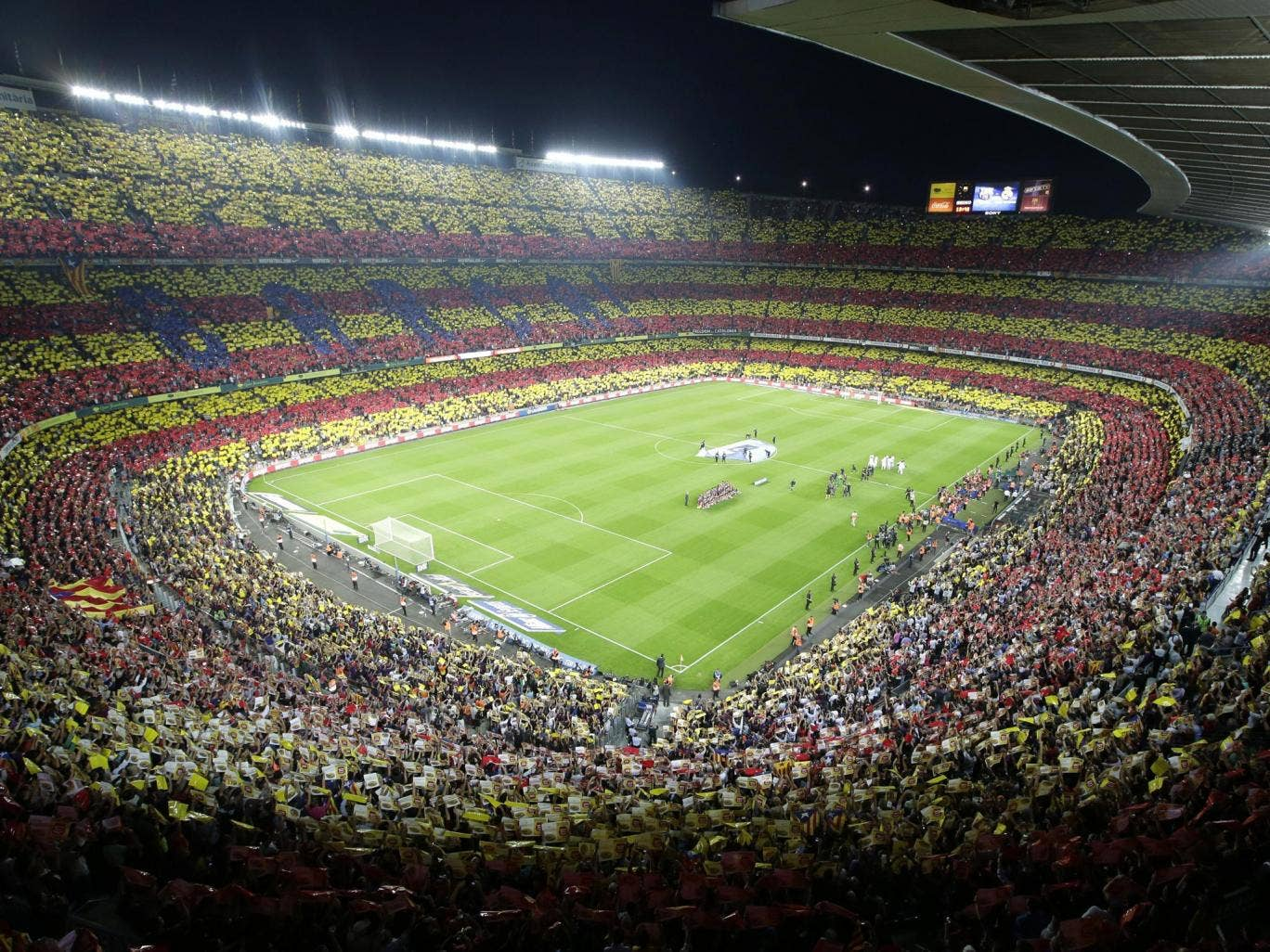 The 'Camp Nou redo' will increase the stadium's income in terms of hospitality, which has been a problem in the past