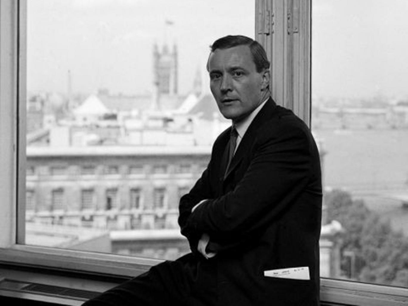 Tony Benn pictured in 1966