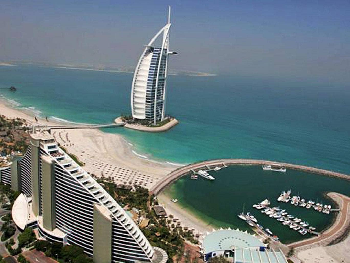 Hotting up: the emirate now welcomes a million UK visitors each year