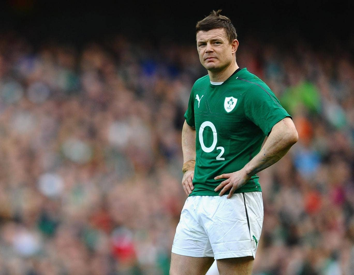 Ireland's Brian O'Driscoll will end his international career against France today