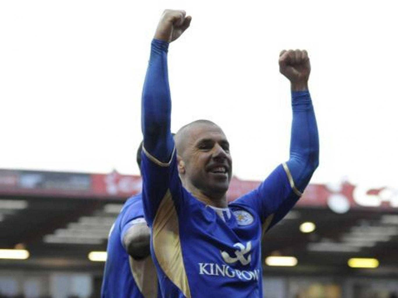 Old boy: Veteran striker Kevin Phillips scored against former club Blackpool