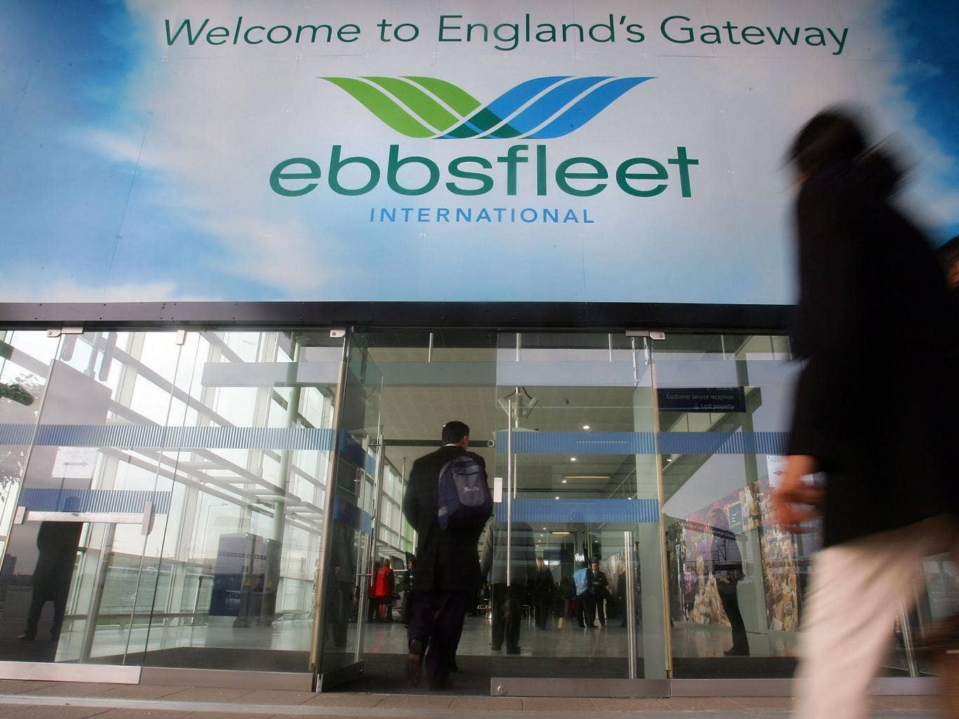 George Osborne announced a new 15,000-home garden city will be built at Ebbsfleet, Kent - which is already connected to the high-speed rail network