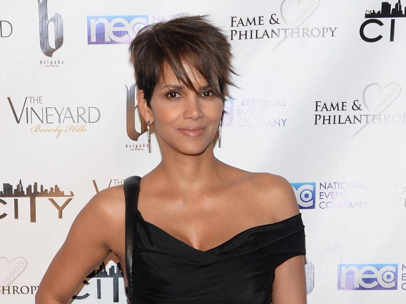 Halle Berry plays Storm in the superhero film franchise