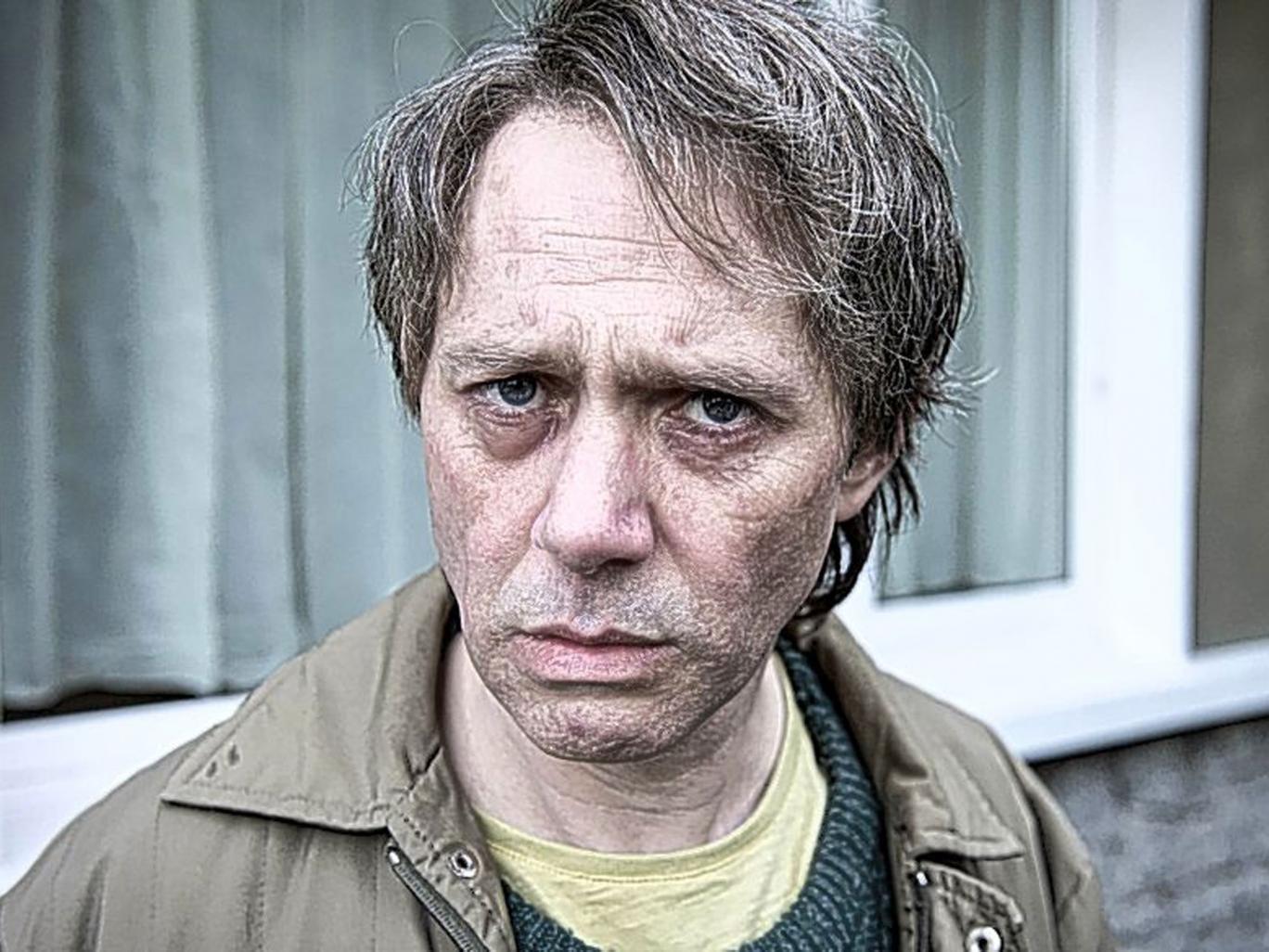 Murder in mind: Reece Shearsmith as Malcolm Webster in 'The Widower'