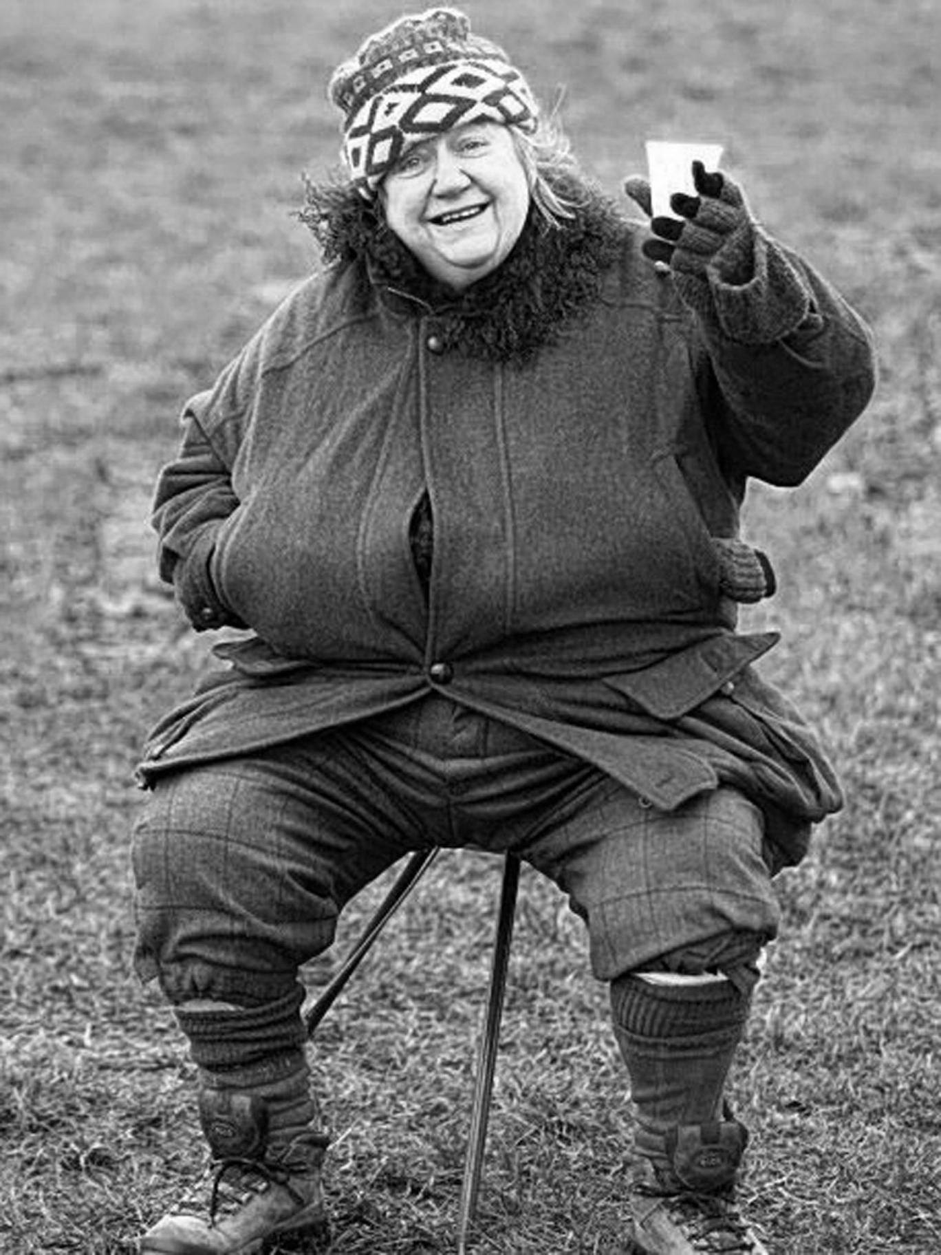 Dickson Wright in 2004: she was known as 'Krakatoa' to film crews