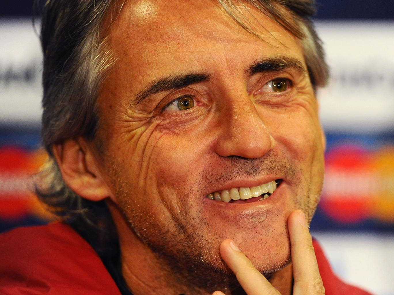 Roberto Mancini claimed it was 'a miracle' that Galatasaray reached the knockout stages and said it would be difficult to win tonight