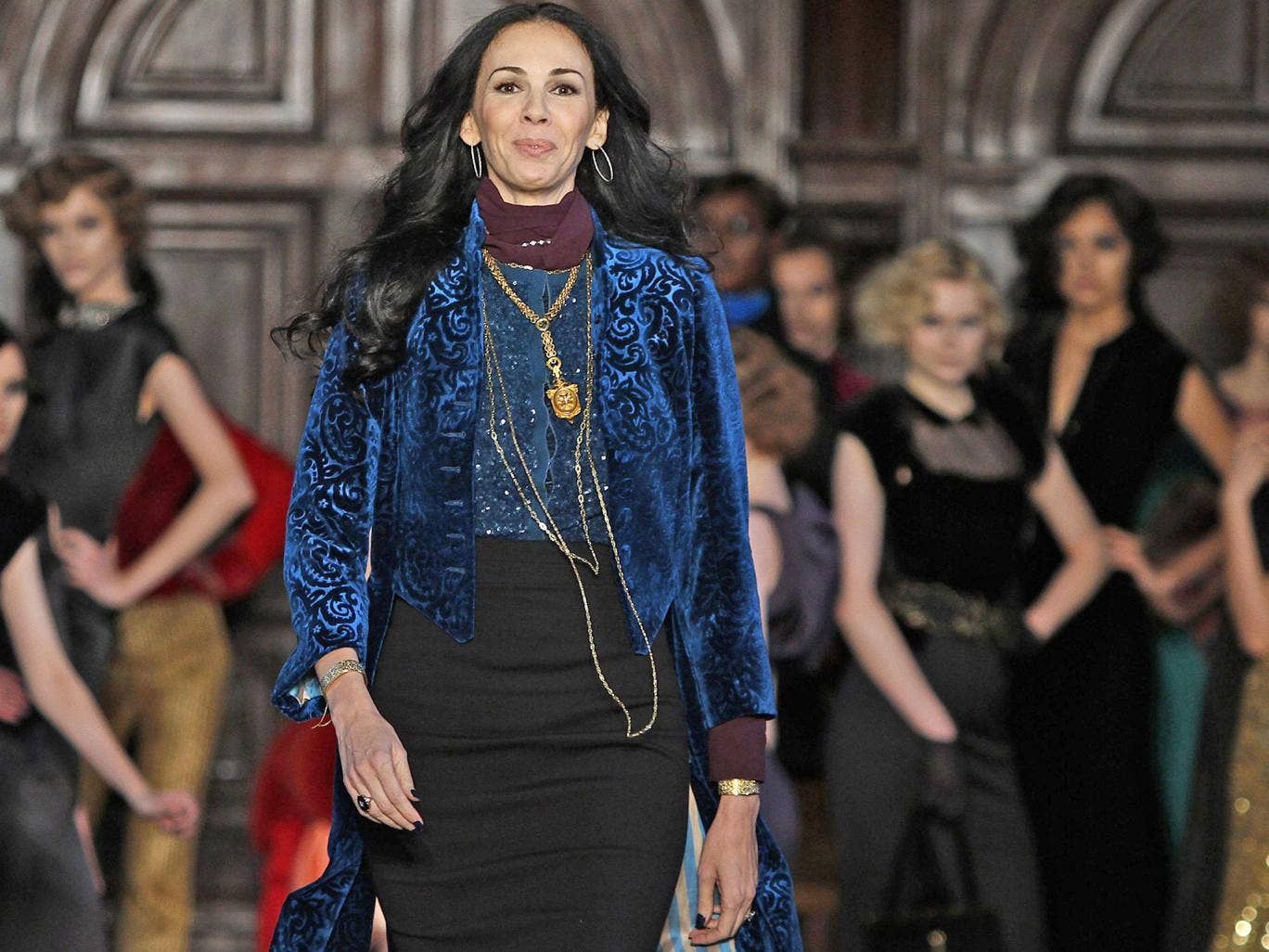 By design: L'Wren Scott lived off her own name