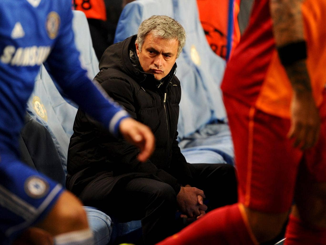Chelsea manager Jose Mourinho, pictured before his side's win over Galatasaray