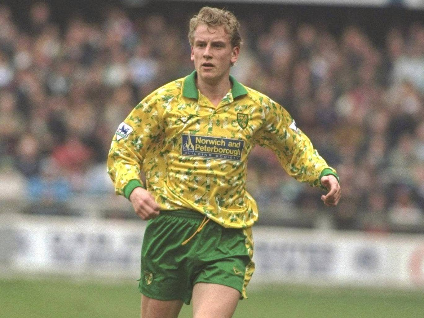 Lee Power in his Norwich City days, when he first forged links with Spurs' Tim Sherwood