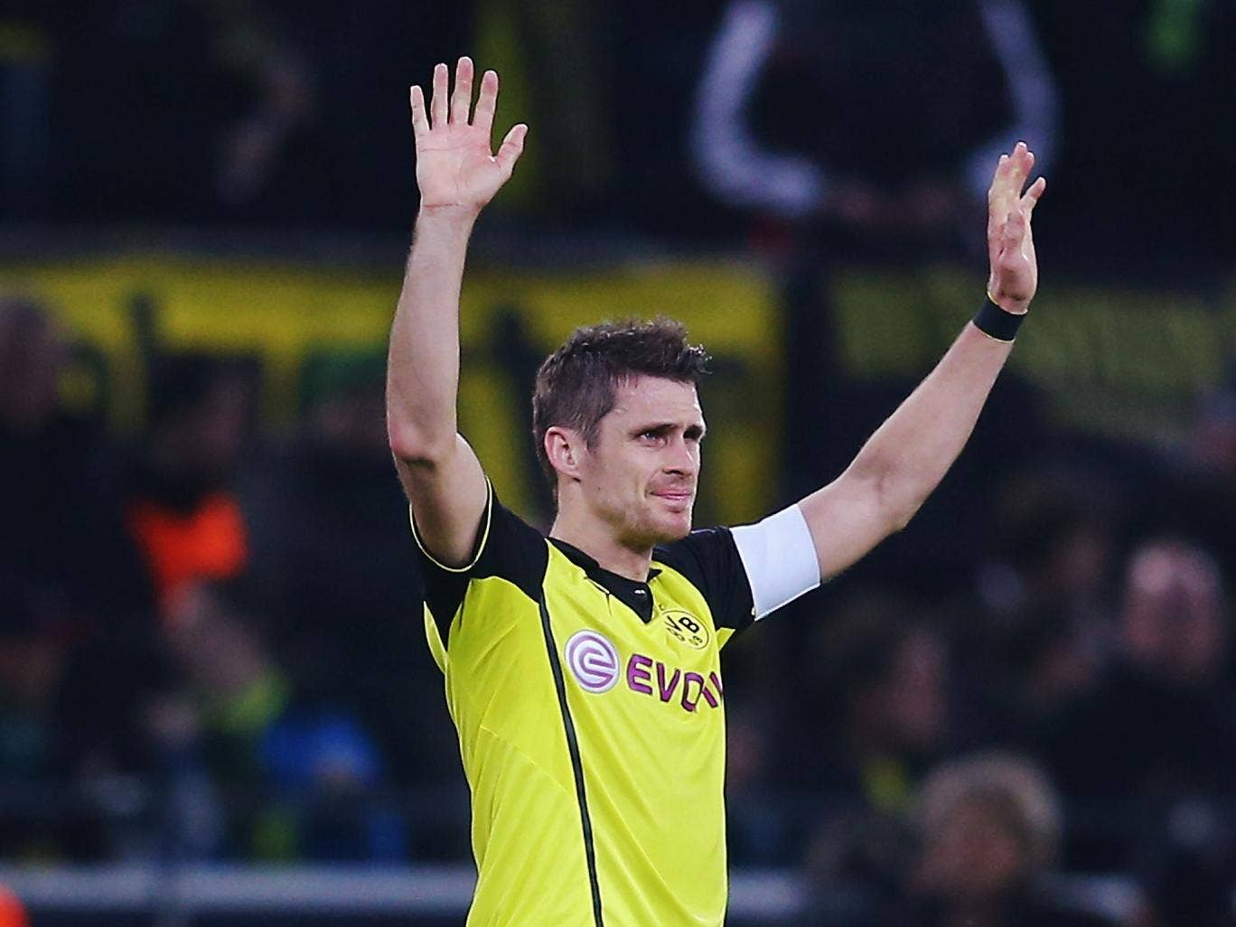 Sebastian Kehl scored as Dortmund survived a scare before making the last eight