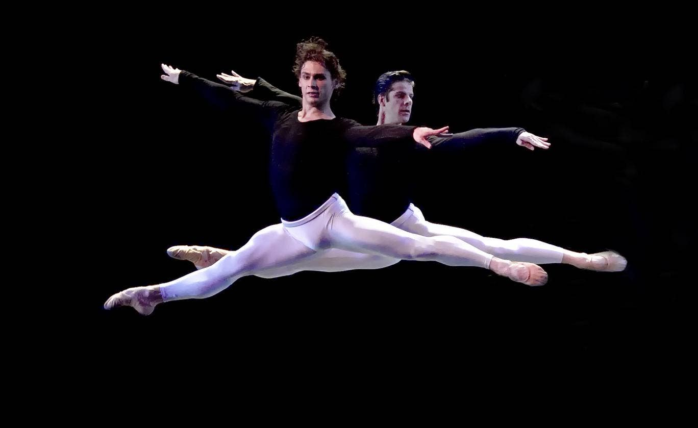 Ivan Vasiliev and Marcelo Gomes in 'Kings of the Dance'
