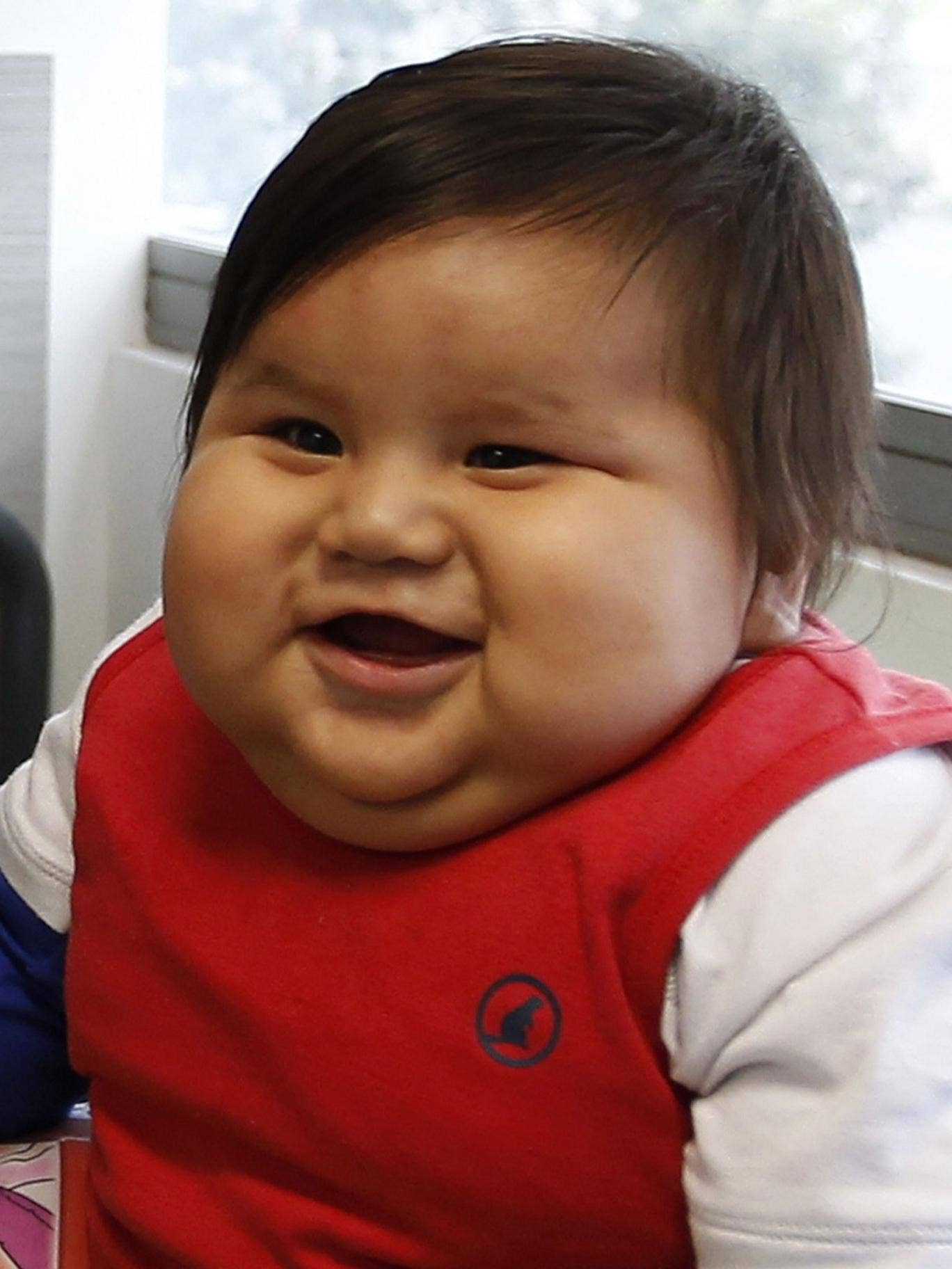 Santiago weighs more than 20 kilos and will be on a diet to lose weight, said therapist Salvador Palacios of a nonprofit organization that cares for obese children