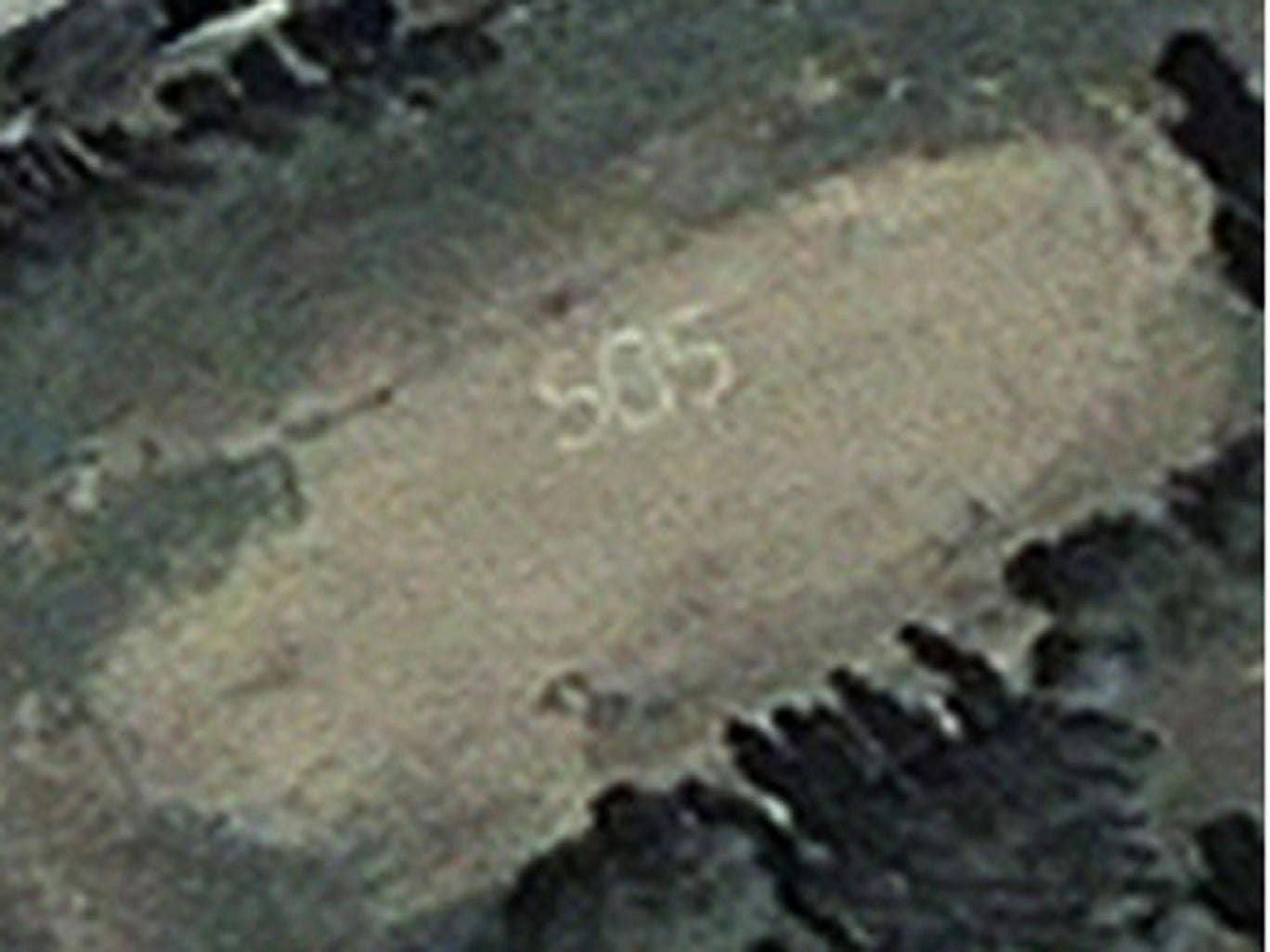 Did 'Gemma Sheridan' make this SOS message in the sands of a Pacific island?