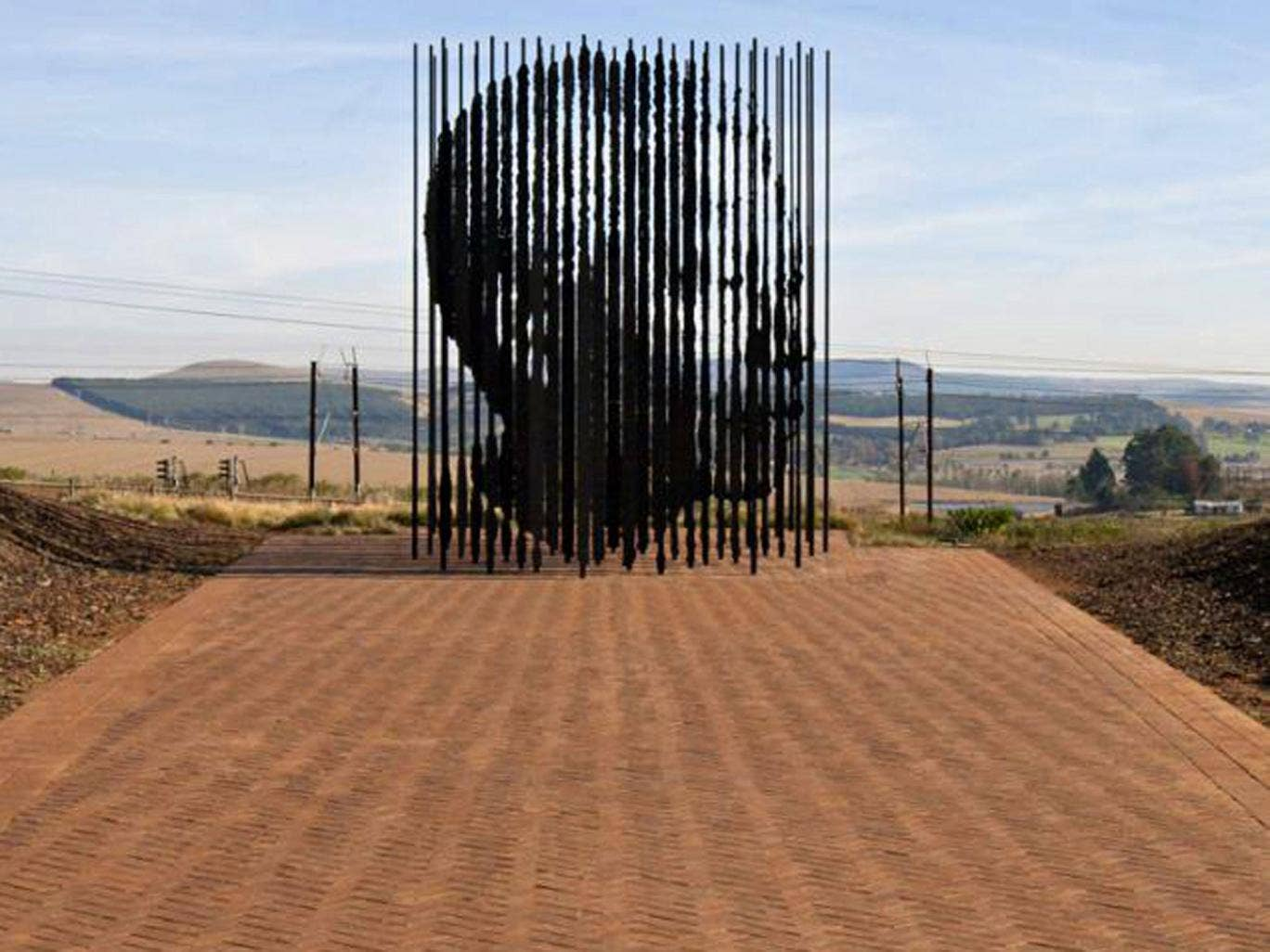 'Release' sculpture near Howick