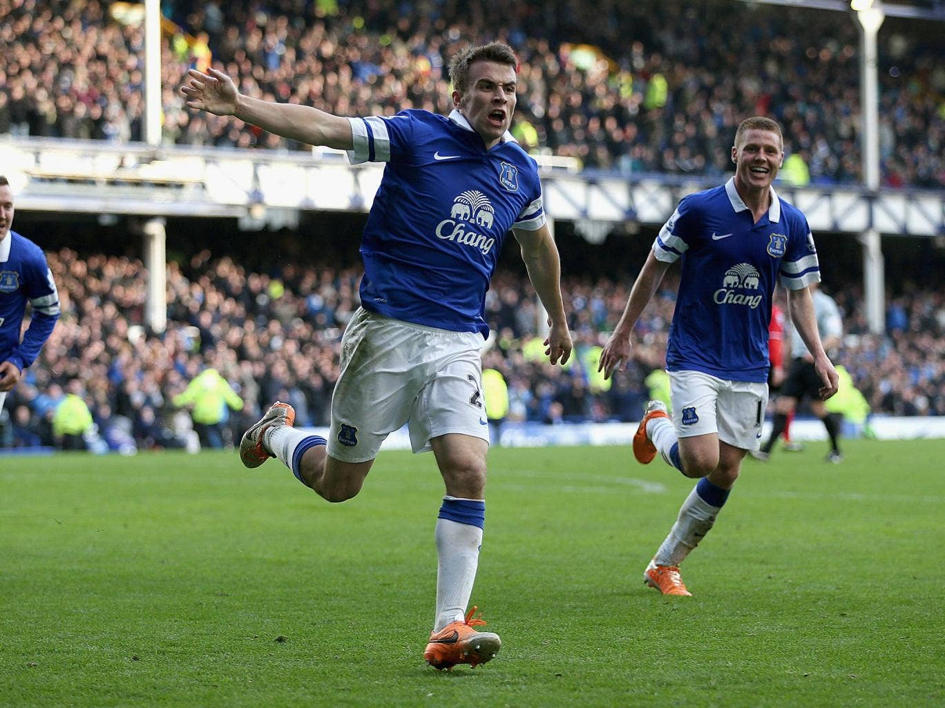 Roberto Martinez has dismissed any talk of defender Seamus Coleman leaving Everton