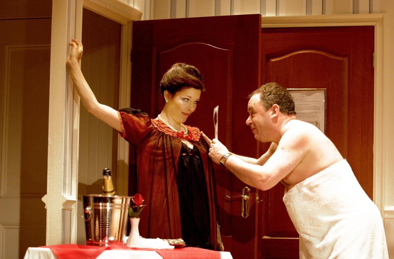 Josefina Gabriella and Nick Wilton in 'Two Into One'