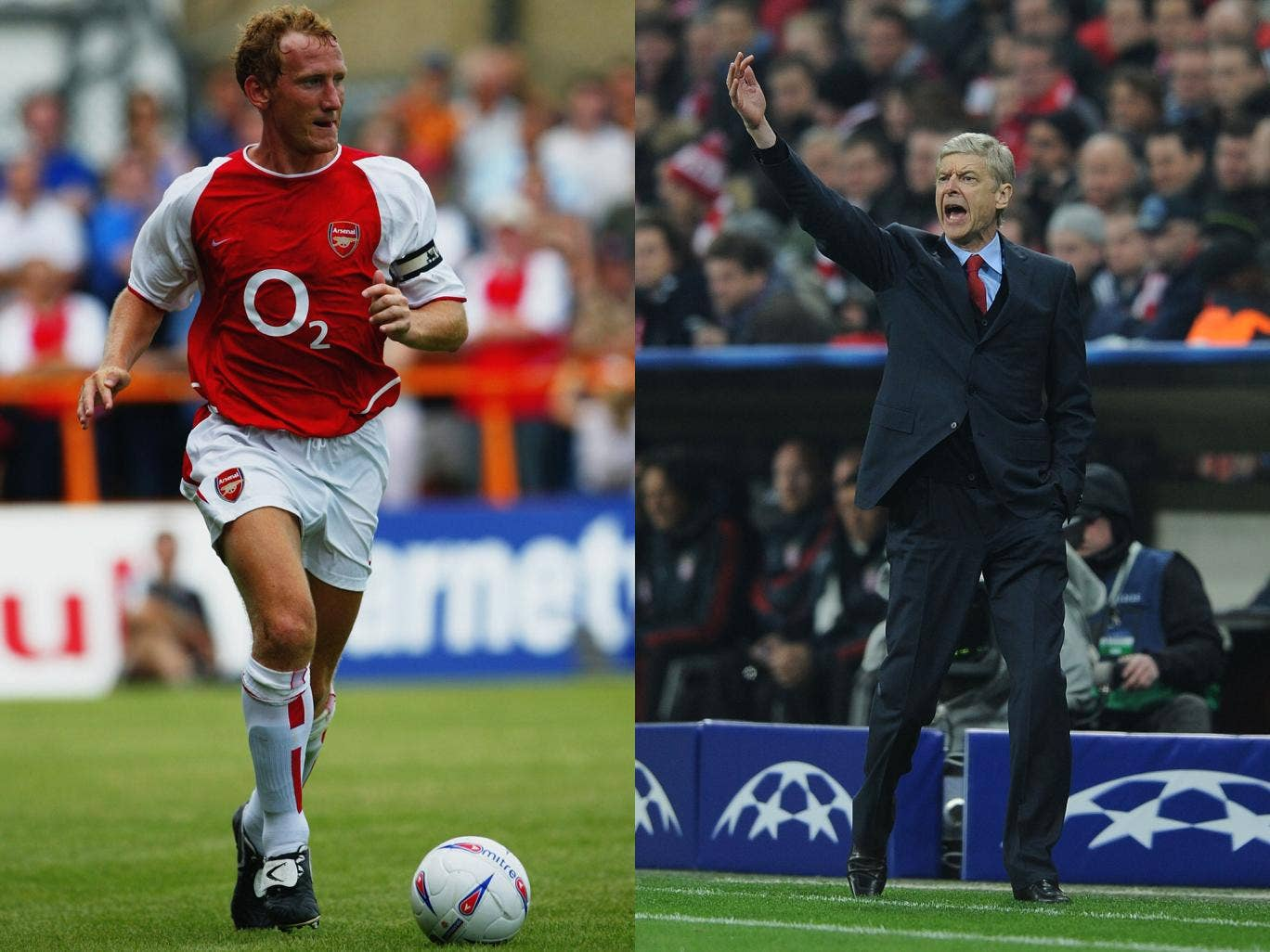 Ray Parlour has praised Arsenal manager Arsene Wenger for taking his game on to another level