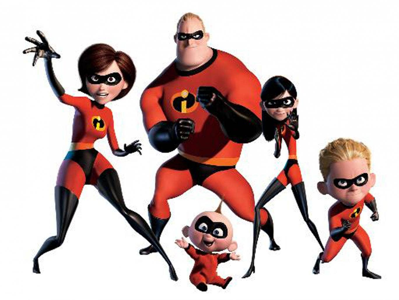Fighting force with family: The Incredibles