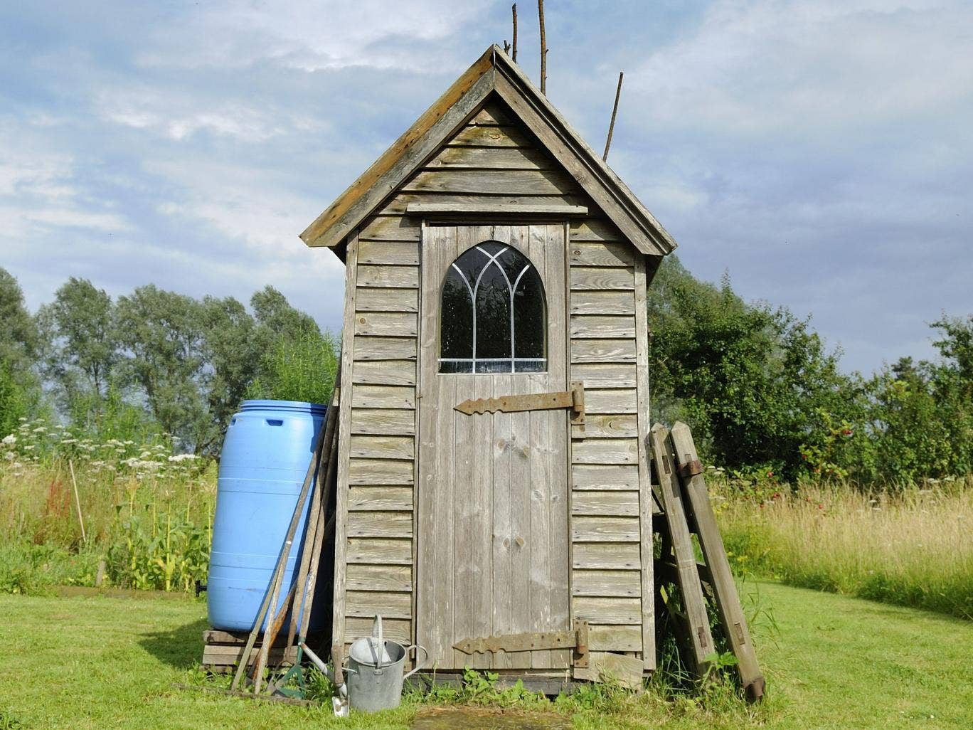 File image: A man locked his wife in a garden shed because she insulted his recently deceased mother