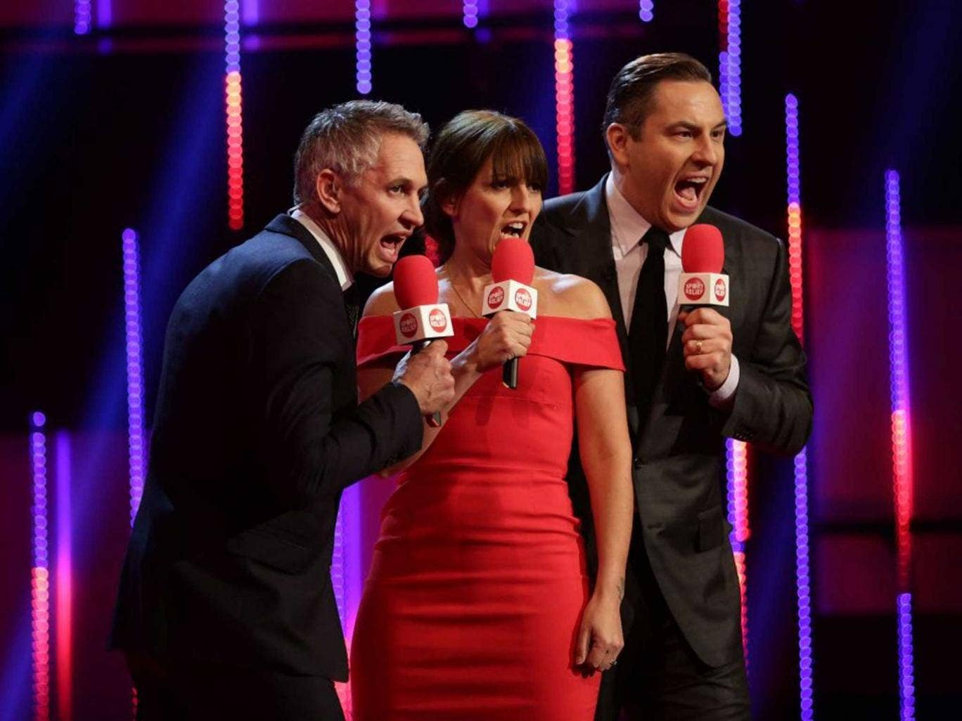 Loud Charity: Sport Relief's Gary Lineker, Davina McCall and David Walliams