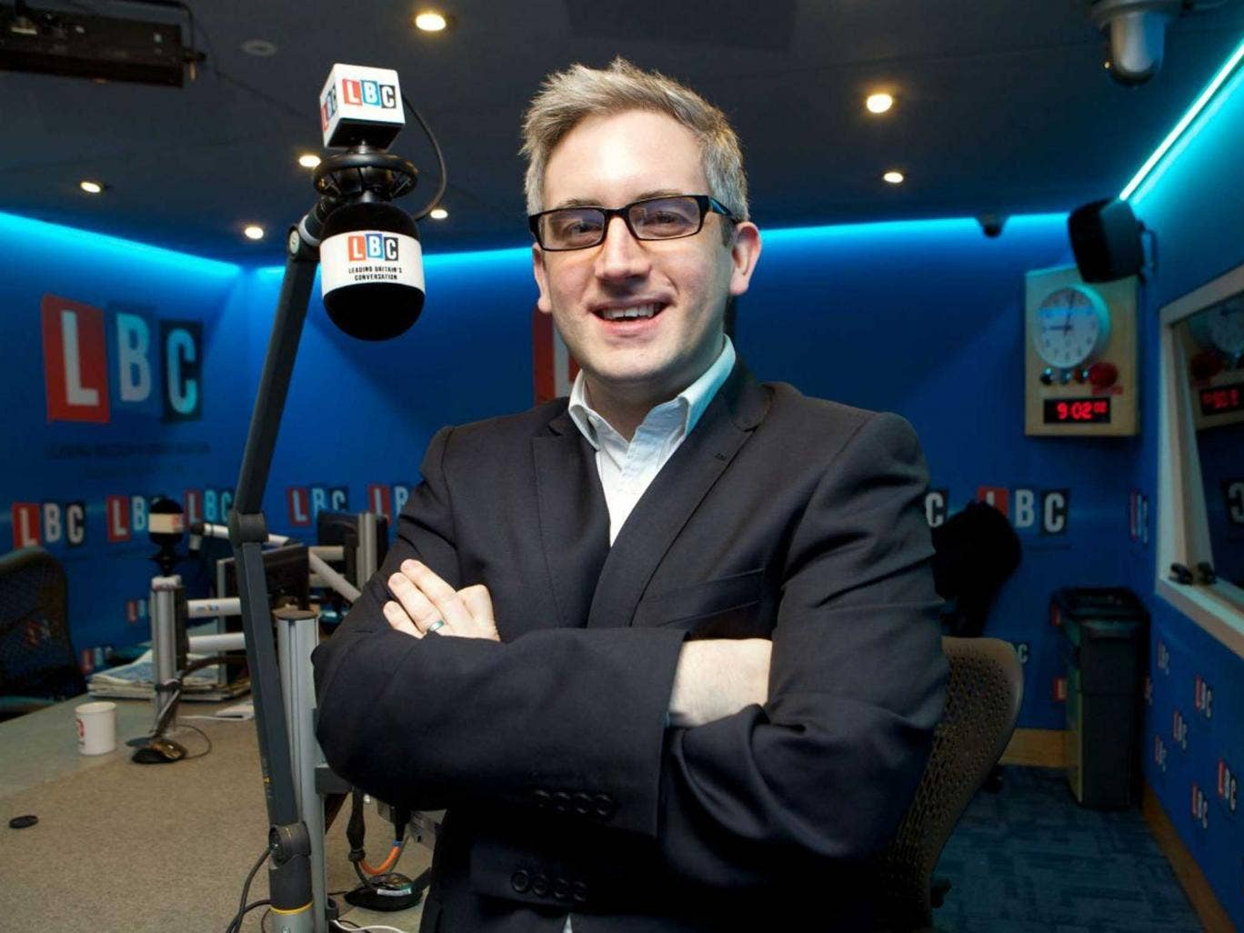 Tuned in: LBC's managing director James Rea: 'We don't give politicians a free ride'