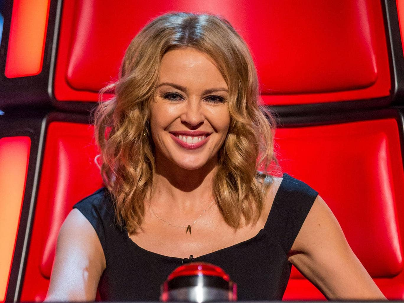 Kylie has helped to boost viewing figures for the talent show