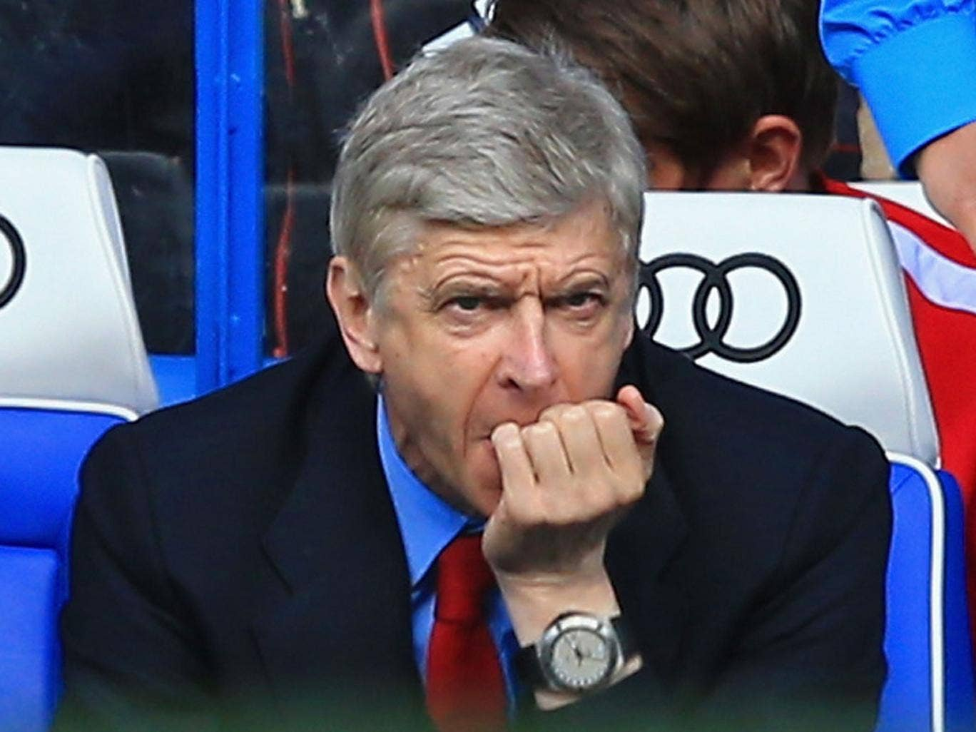 Arsène Wenger declined to face the press after his 1,000th game as Arsenal manager ended in defeat