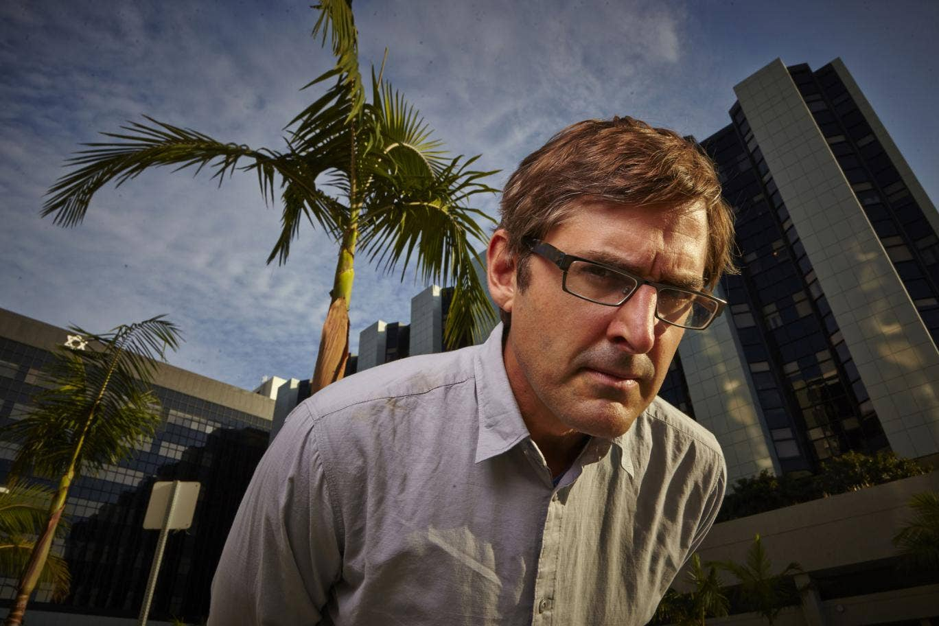 Louis Theroux in his new documentary 'LA Stories'