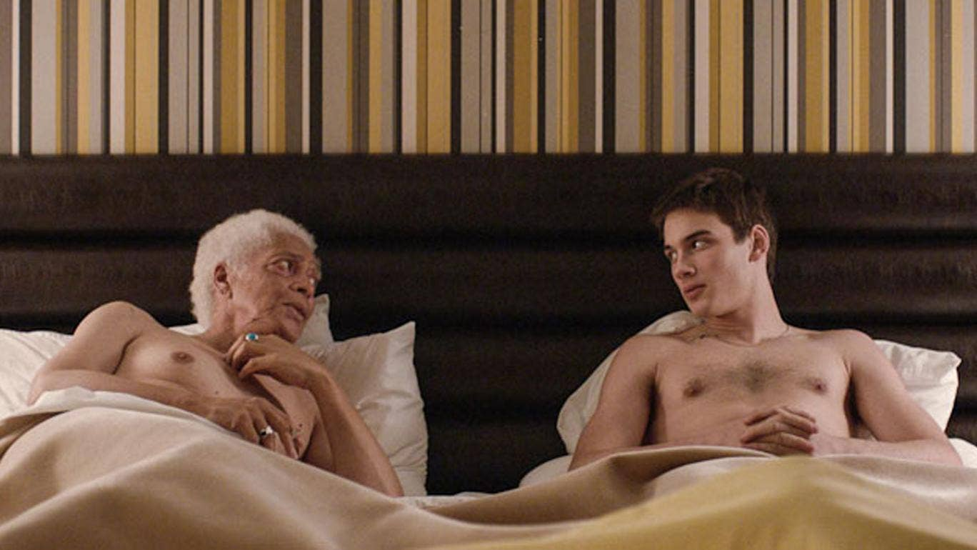 Pier-Gabriel Lajoie and Walter Borden in 'Gerontophilia'