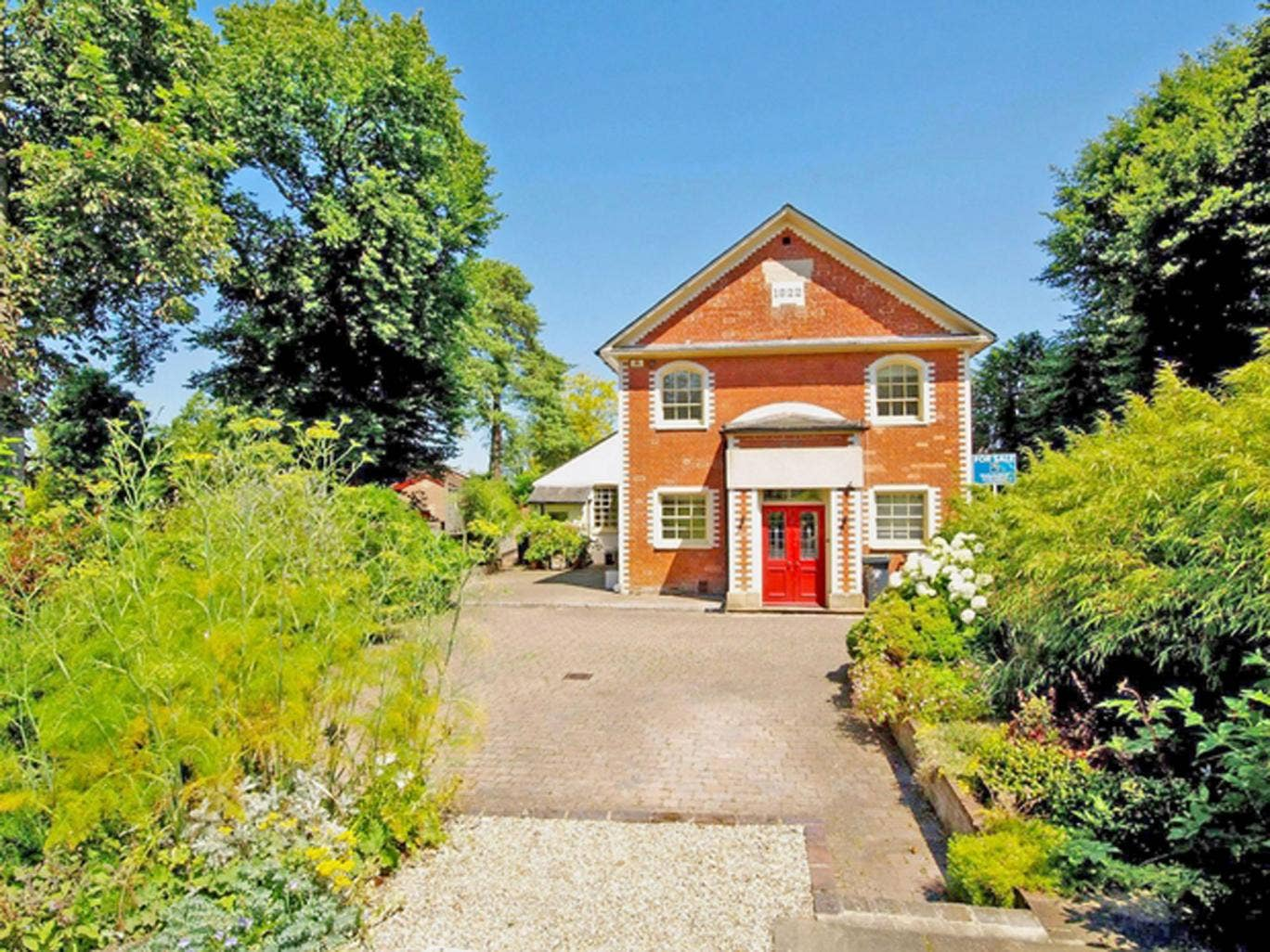 Five bedroom detached house for sale in The Old Chapel, 50 London Road, Saffron Walden CB11. On with Mullocks Wells for £695,000.