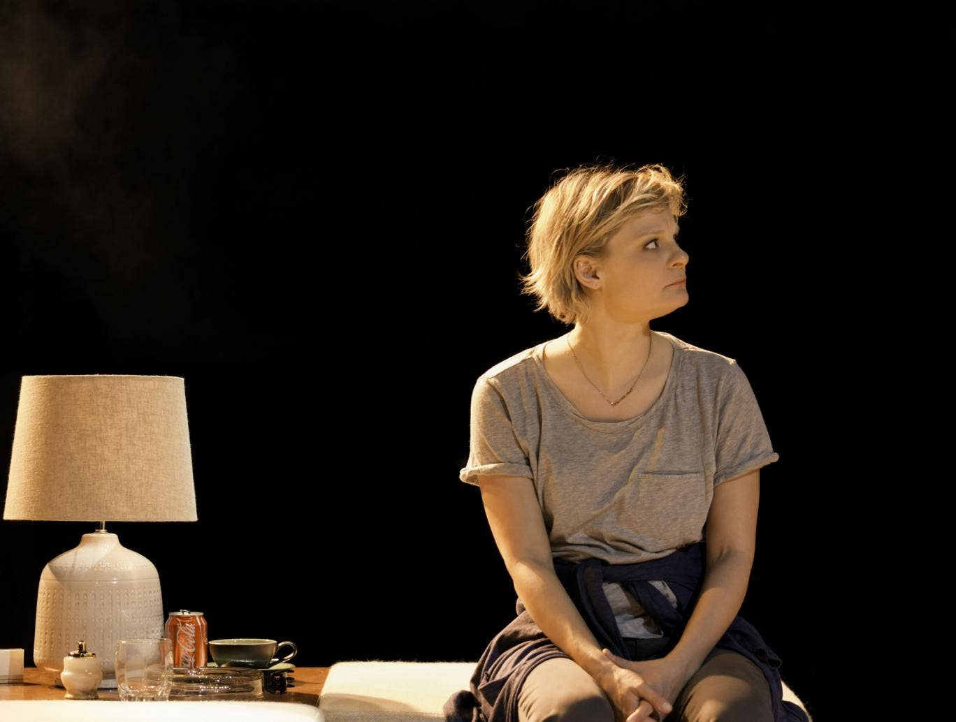 Martha Plimpton (Brooke Wyeth) in Other Desert Cities at the Old Vic