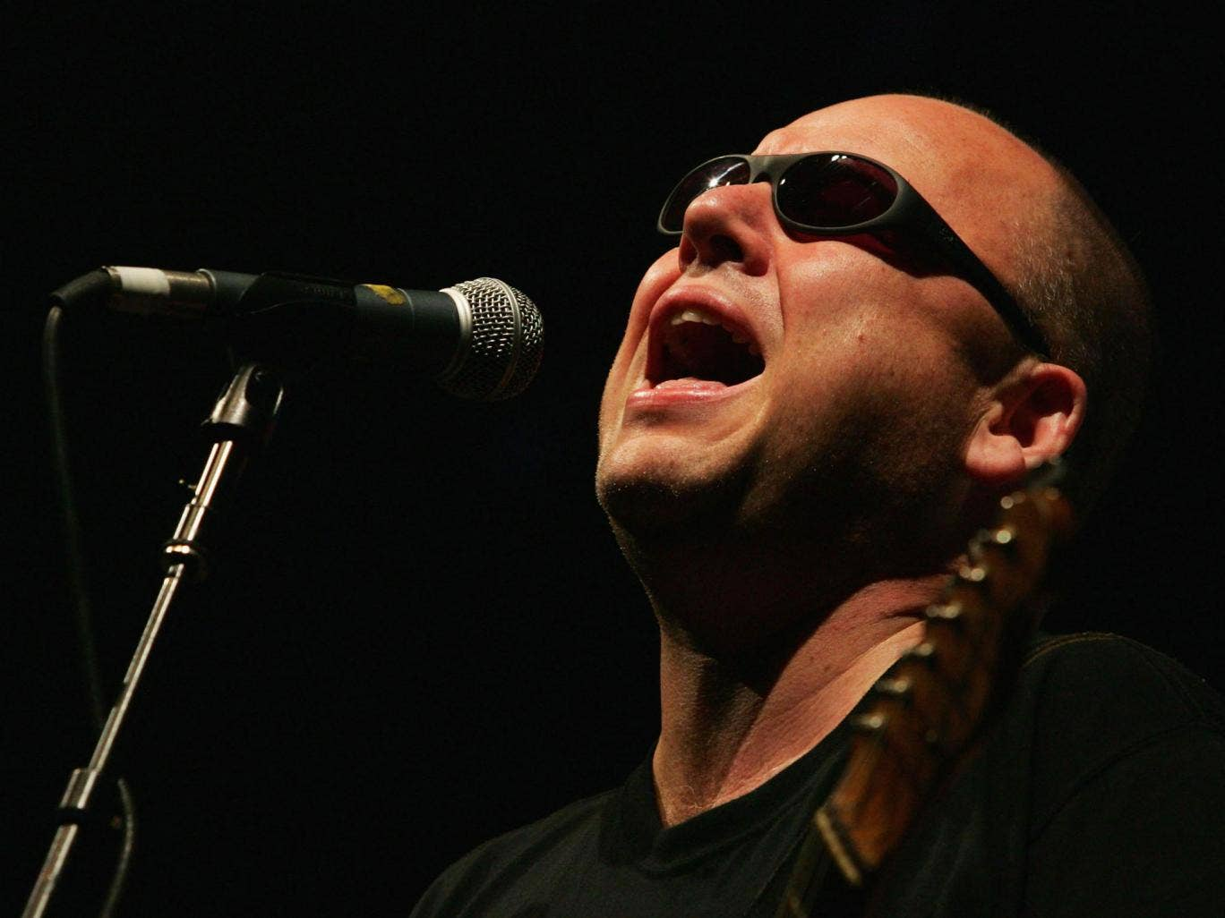 Black Francis, frontman of Pixies, who are releasing their first studio album in twenty-three years.