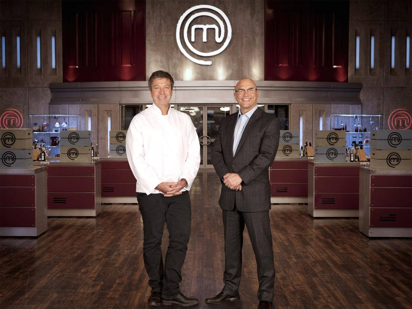 In the best possible taste: John Torode and Gregg Wallace present 'MasterChef'