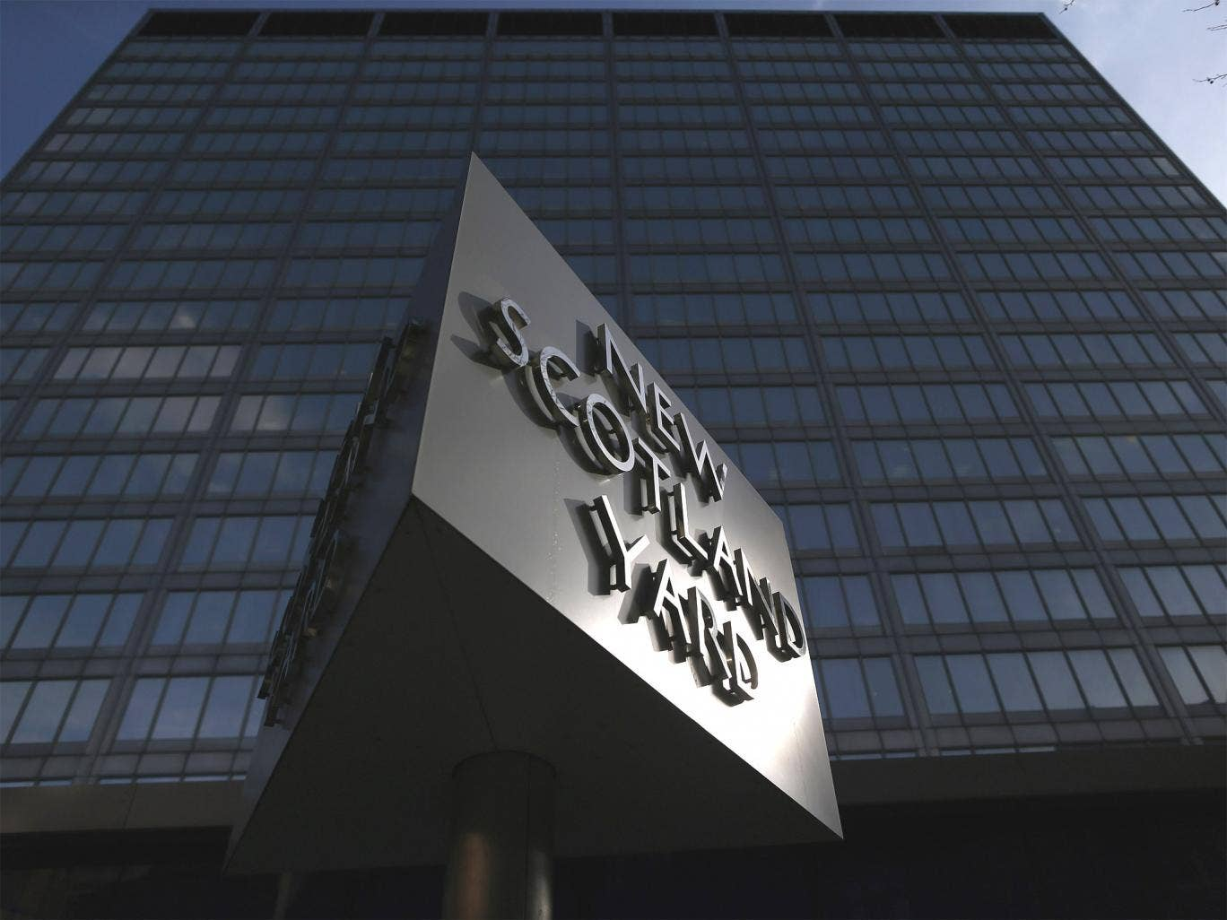 New Scotland Yard, the headquarters of the Metropolitan Police