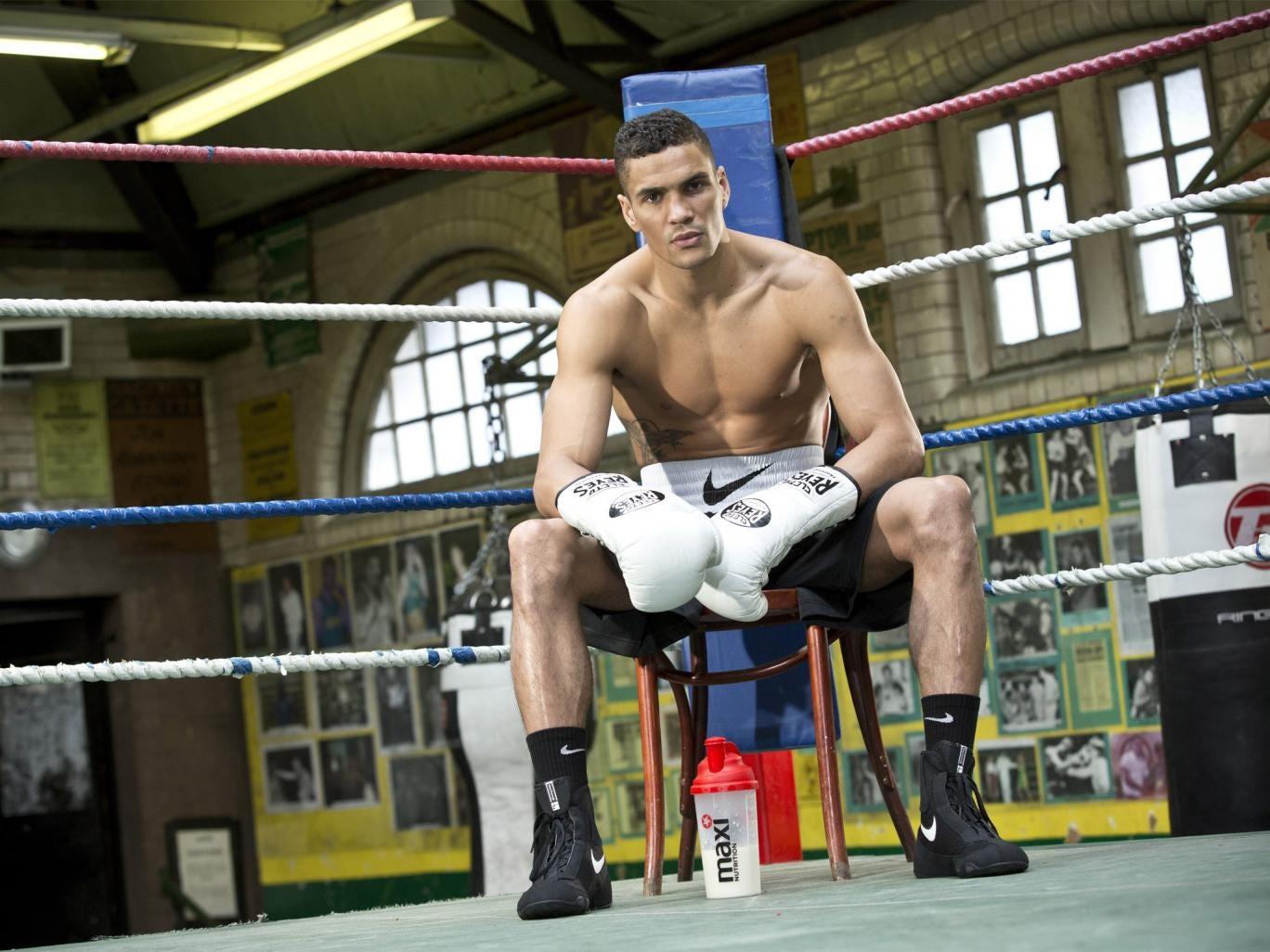 Anthony Ogogo at Repton Boxing Club