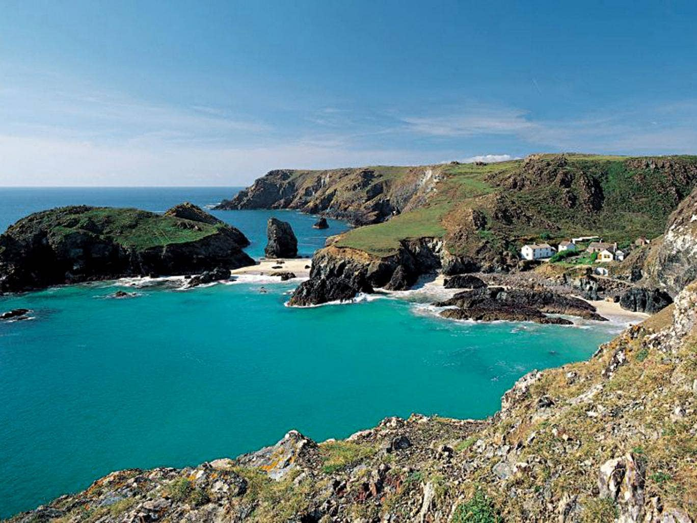 Double jeopardy: Kynance Cove in Cornwall