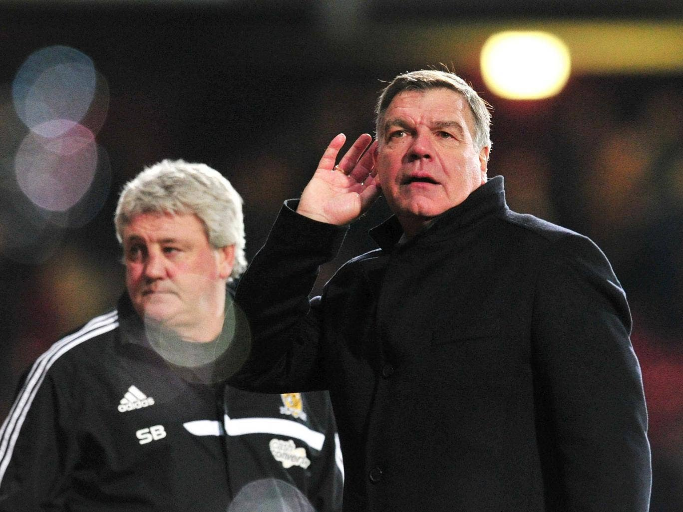 Sam Allardyce responds to West ham fans booing at the final whistle of their 2-1 victory over Hull