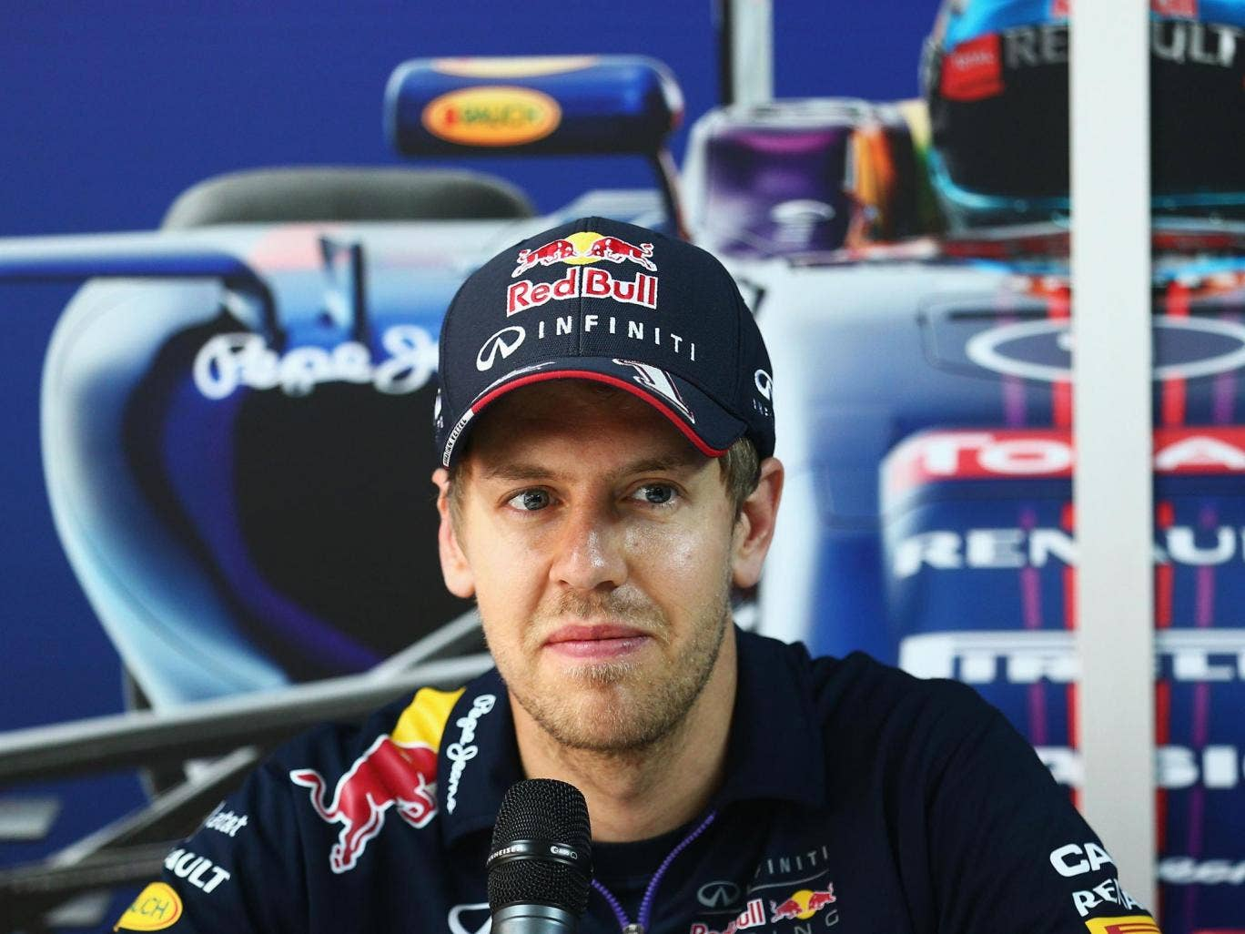 Sebastian Vettel has described the noise of the 2014 F1 cars as 's***'