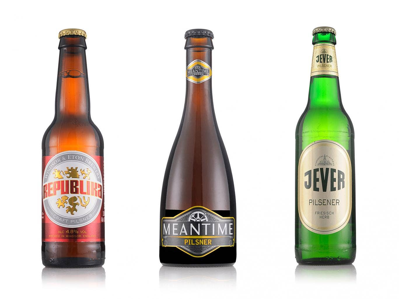 Three to try: Windsor & Eton Republika, Meantime Pilsner and Jever
